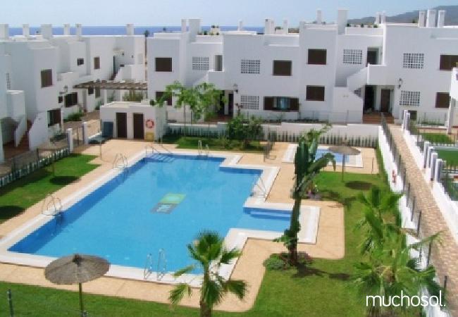 Bungalow de 2 habitaciones a 200 m de la playa en San Juan de los terreros - Ref. 76225-45