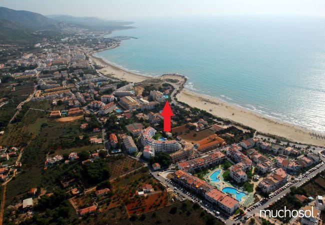 Apartamento en primera línea de playa en Alcoceber - Ref. 77729-12