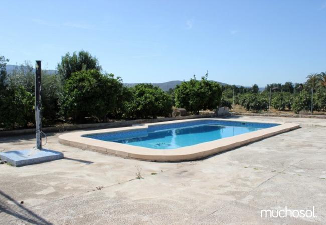 Villa con piscina y pista de tenis privada - Ref. 110512-2
