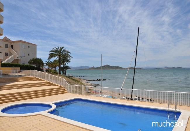 Apartamento con piscina en la Manga del Mar Menor - Ref. 57989-1