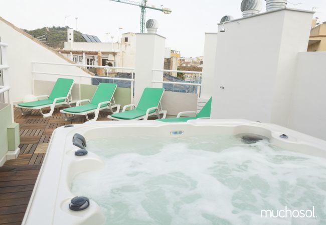 Apartamento de 1 habitación a 2000 m de la playa en Málaga ciudad - Ref. 126710-11