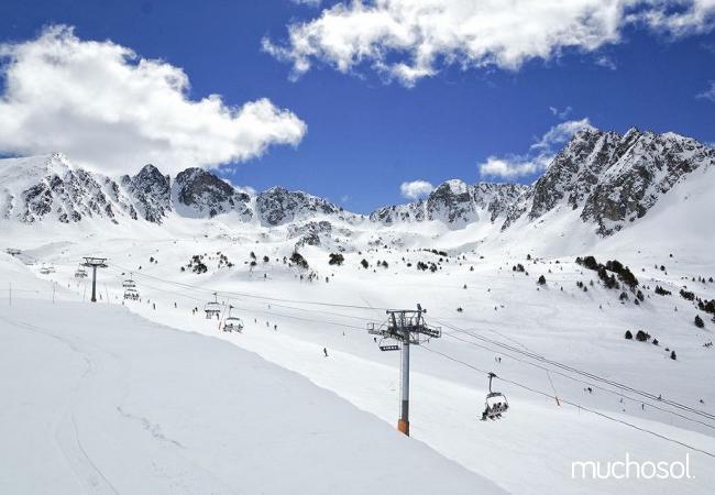 Dúplex en Pas de la Casa al lado de la estación de esquí de Grandvalira - Ref. 63416-10